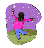 Image of a dancing child