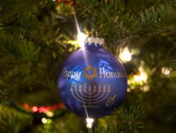 interfaith holiday ornament